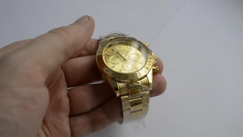 Видео обзор наших часов Rolex Daytona Механические Best
