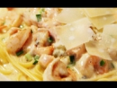 Креветки в сметанном соусе