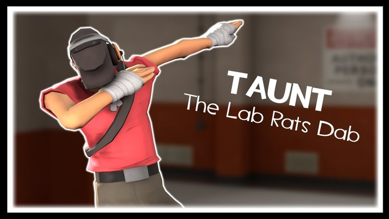 [SFM] The Lab Rats Dab [Taunt]