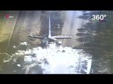Крушение самолета в Джорджии в США