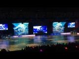 Закрытие ЧМ по спортивным танцам в ДС Юность , очень красивое шоу