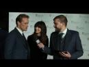 Сэм и Кат интервью на дорожке BAFTA Scot 2017