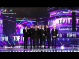 [RUS SUB][02.12.17] BTS receiving the award for Top 10 MelOn Artists @ 2017 MelOn Music Awards