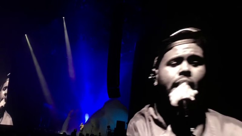 The Weeknd - Call Out My Name Privilege live @ COACHELLA 2018
