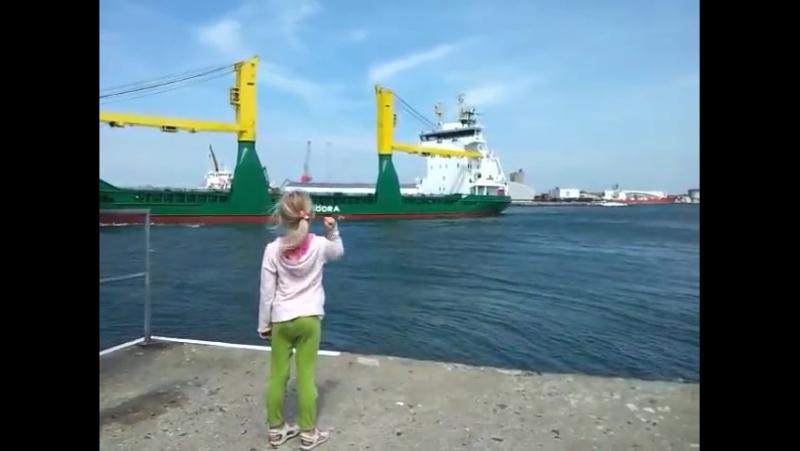 Девочка и корабль
