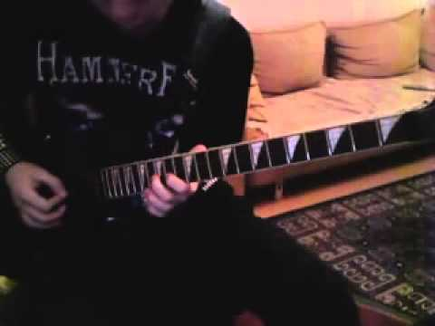 Nightwish Moondance guitar cover avi