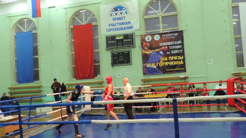 Турнир Горячкина. Мурманск 3 декабря 2017 года. Финал.