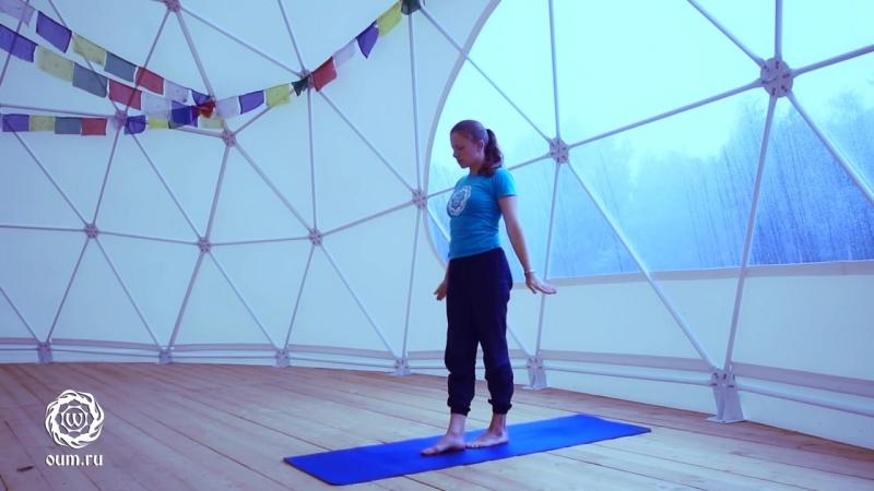 Йога для начинающих. Видео уроки. Практика на расслабление и раскрепощение тазоб