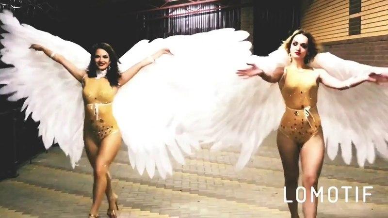 Крылья ангела для танцев и выхода невесты ЛисьяМастерская