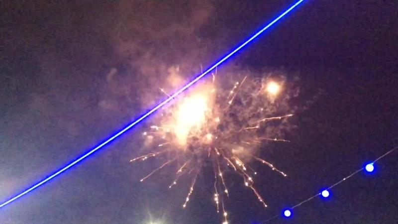 Новогодний салют в Эжве!