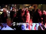 Рианна прибывает в Avenue Nightclub, Нью-Йорк (08.12.2017)