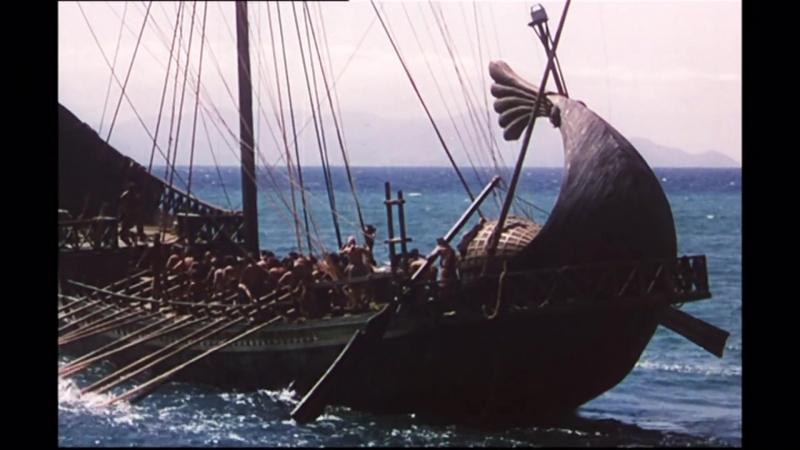 «Приключения Одиссея» (1954) - приключения, реж. Франко Росси, Марио Бава, Пьеро Скивадзаппа