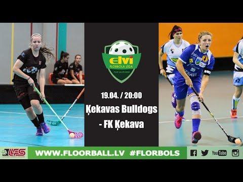 ELVI florbola līga: Ķekavas Bulldogs - FK Ķekava (Spēle par 3.vietu, 19.04.2018)