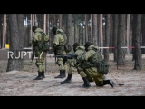 Russia- Special Forces showcase combat skills to mark professional holiday