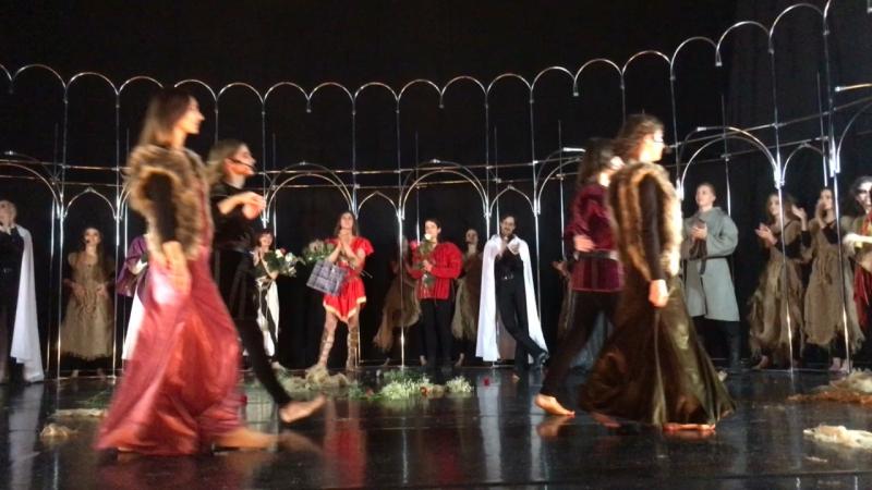 ЖаннаДарк спектакль мюзикл тампль поклоны