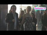 Paul Stanley &amp Erin Sutton leaving RIMOWA Rodeo Drive Store Opening in Beverly Hills!
