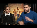 FOREVER MY GIRL Interview- Jessica Rothe  Alex Roe
