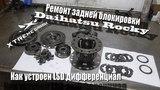 Как устроен LSD дифференциал и ремонт задней блокировки Daihatsu Rocky