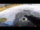 Фартовая лунка или уловистый балансир Зимняя рыбалка 2017 ЛОВЛЯ ОКУНЯ ЗИМОЙ на б