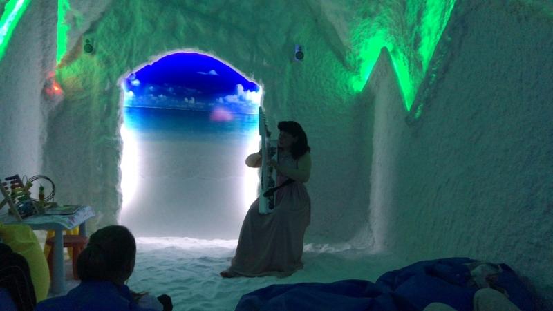 Соляная пещера Galomed, Балтийская Жемчужина — Live