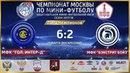 НМФЛ Лига Чемпионов 1 4 финала МФК Гольяновский Интер д МФК Бэкстрит Бойз 6 2