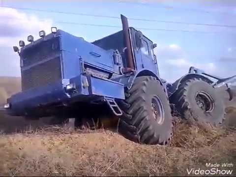 Кировец к 701 синий с плугом пск 8