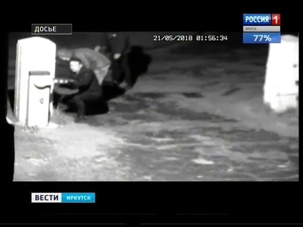 Похищенный со двора больницы в Ангарске шлагбаум нашли в соседнем квартале