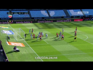 Сельта 0:1 Атлетико | Гол Гамейро