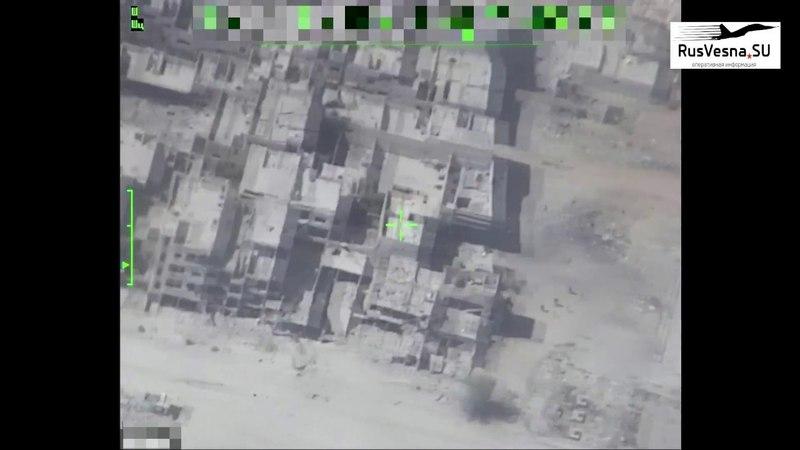 Охота на ИГИЛ: БПЛА ВКС России выследил 2 отряда боевиков, а Су-34 нанёс удары