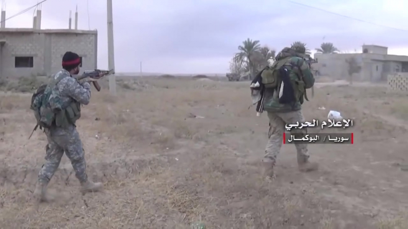Взятие Шайра и Габры сирийской армией и