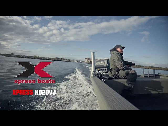 Go Fishing Boat XPRESS HD20VJ MERCURY F60 CT Big Tiller