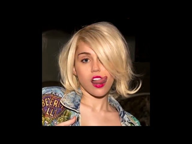 Miley Cyrus - Do My Thang - Backdrop Official Bangerz Tour | HD