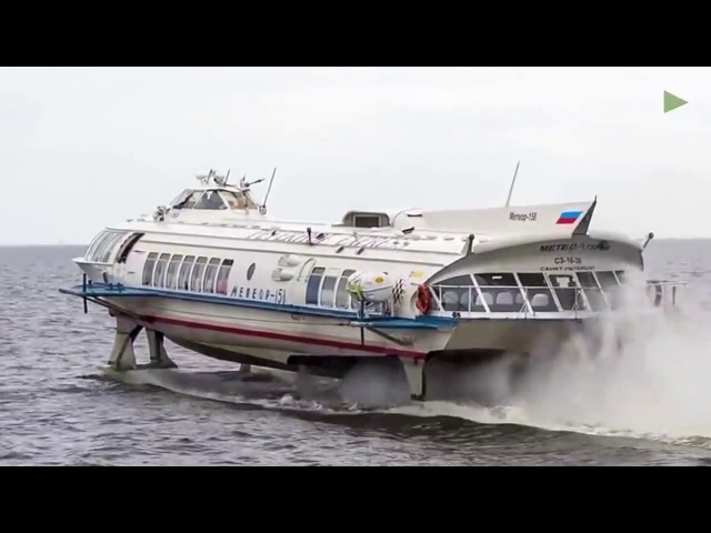 IMPRESSIVE: First Hydrofoil since Soviet Era in construction at Russian shipyard
