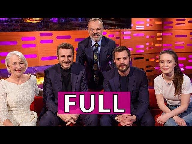 FULL Graham Norton Show s22e15: Dame Helen Mirren, Liam Neeson, Jamie Doran, et al.