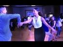 Tanja La Alemana Kensinger Brandon Carretero social salsa dancing @ 2018 HSC