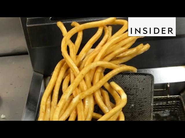 Restaurant Sells the Longest Fries