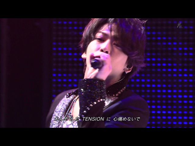 KAT-TUN - RAY RUN FOR YOU TOKYO STARRY [1080P]