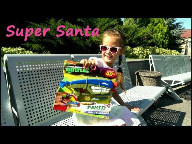 Супер Санта на празднике День рождения Егора Веселые миньоны Super Santa Birthday party