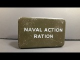 1945 British Royal Navy Naval Action Ration Pilot Survival Vintage MRE Candy Taste Test Review