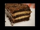 Шоколадный торт с ореховым кремом