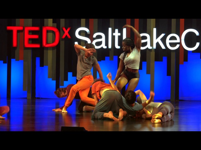 We Rise and Fall Together | Contact Improv | Nathan Dryden | TEDxSaltLakeCity