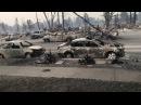 Что осталось от калифорнийского города после пожара