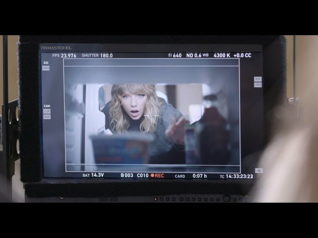 Taylor Swift NOW Presents: Behind-the-Scenes with Taylor Swift and Tasty Props | ATT