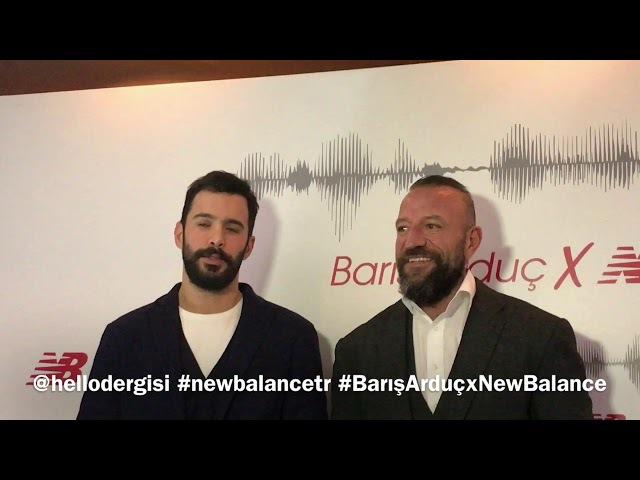 Barış Arduç ve Önder Öztarhan - New Balance basın toplantısı