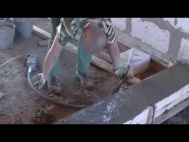 Нужен ли вибратор при укладке подвижного бетона или НЕТ