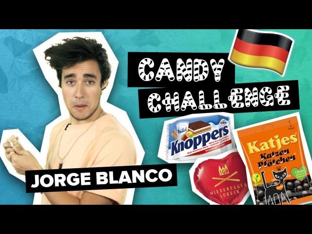 🍬 Jorge Blanco: German Candy Challenge verrät uns, wie seine Tour wird | Digster Pop