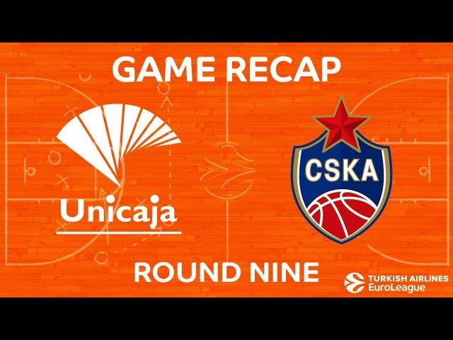 Highlights: Unicaja Malaga - CSKA Moscow