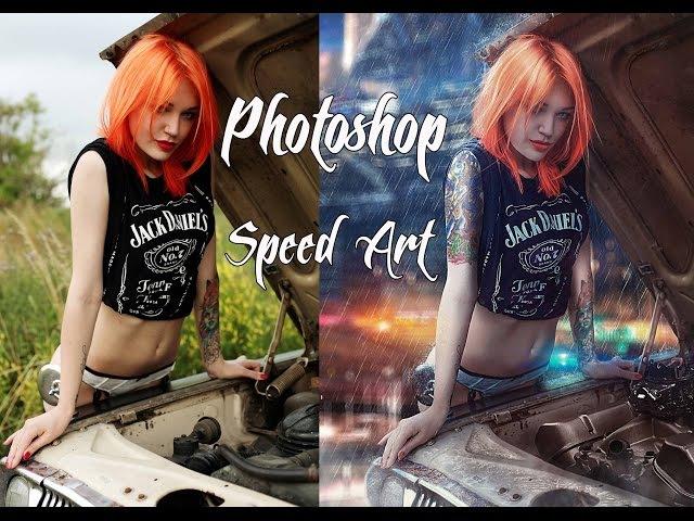 Photoshop Speed Art