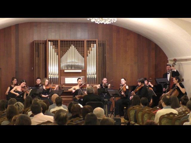 Бах. Концерт для двух скрипок с оркестром ре минор. Исп.