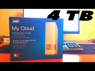 Облачное хранилище wd my cloud 4 TB\ НАСТРОЙКА - сетевое хранилище WD для дома
